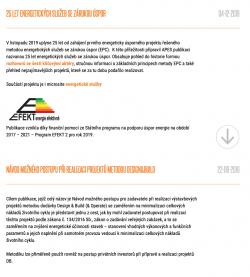 Dokumenty k EPC
