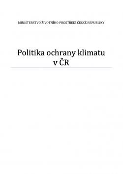 Politika ochrany klimatu v České republice