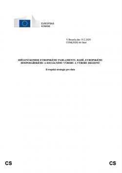 Evropská strategie pro data