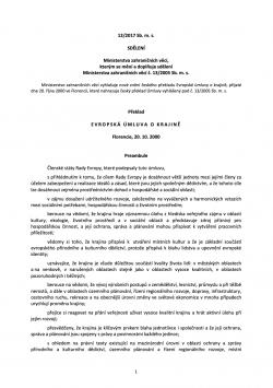 Evropská úmluva o krajině