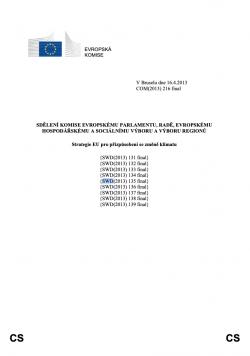 Globální strategie Evropské unie na změnu klimatu (EUGS)