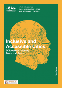 Inclusive and Accesible Cities