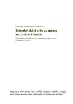 Národní akční plán adaptace na změnu klimatu