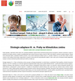 Strategie adaptace hl. m. Prahy