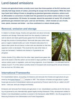 Lesy a půda