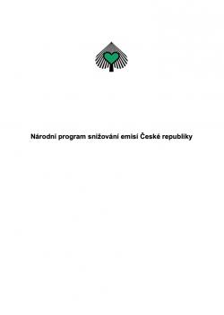 Národní program snižování emisí České republiky
