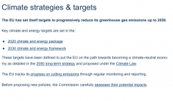 European Commission – Climate Action strategies and Framework