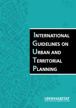 Mezinárodní pokyny pro městské a územní plánování