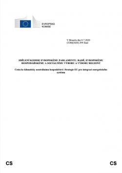 Strategie EU pro integraci energetického systému