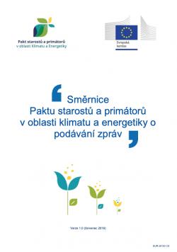 """Průvodce """"Jak vytvořit Akční plán pro udržitelnou energii"""" (SECAP)"""