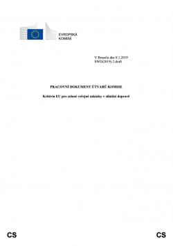 EU Green Public Procurement Criteria for Road Design, Construction and Maintenance