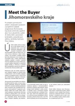 Meet the Buyer Jihomoravského kraje